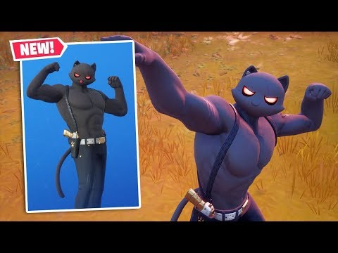 NEW SHADOW MEOWSCLES Skin Gameplay In Fortnite!
