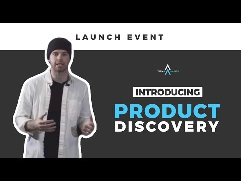 Product Discovery Launch Event with Viral Launch