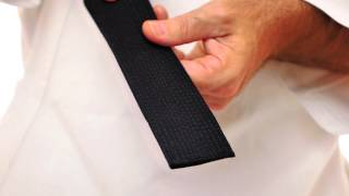 Kataaro Brushed Cotton Black Belt
