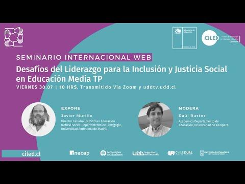 Seminario Internacional | Desafíos del Liderazgo para la Inclusión y Justicia Social en Modalidad TP