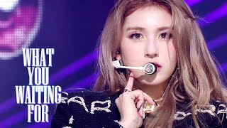 SOMI - What You Waiting For [SBS Inkigayo Ep 1059]