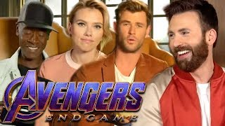 Avengers: Endgame Cast Can't Stop Swearing While Reading Kid-Friendly Infinity War Story thumbnail