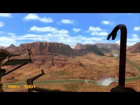 Half Life Black Mesa Jet Scenes