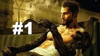 Deus Ex Human Revolution - PART 1 - No Commentary Walkthrough