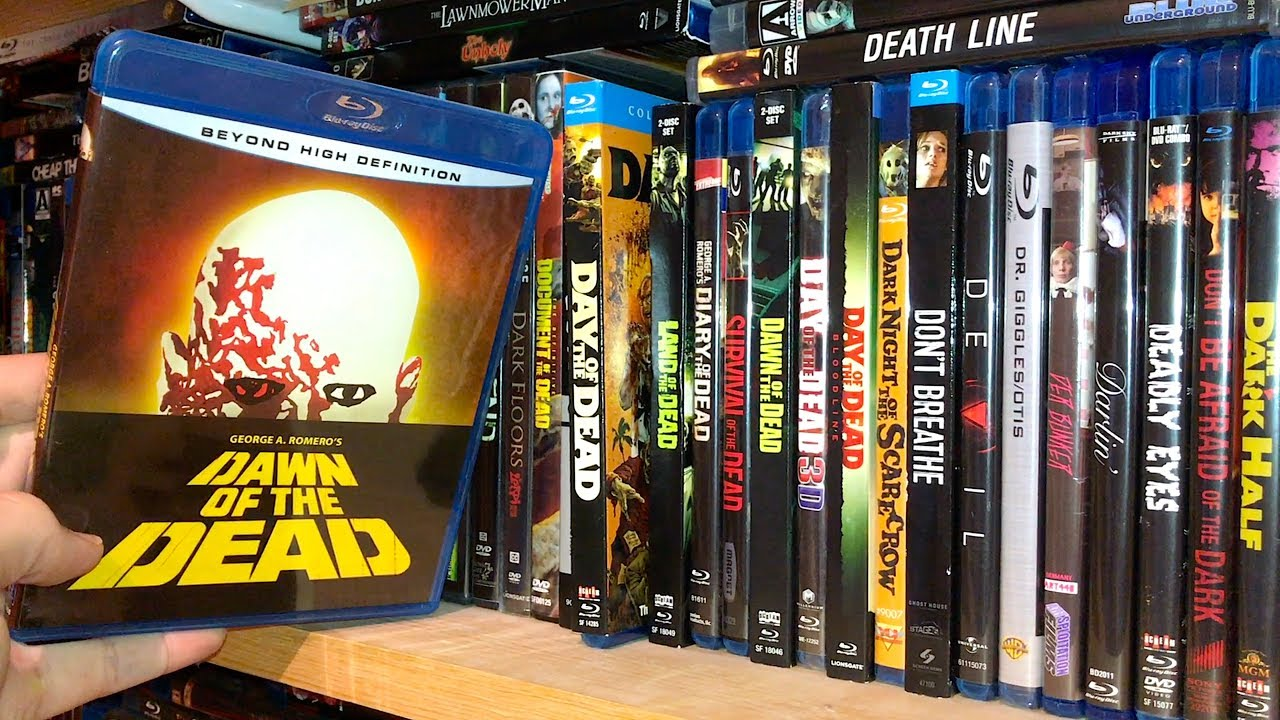 Download My Entire Horror Blu-ray / Dvd and 4K Ultra HD Collection