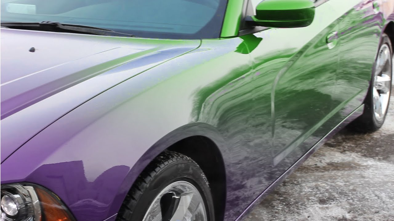 Car Paint Colors >> Color Changing Car Paint Paramagnetic Paint