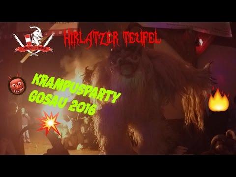 Krampusparty 2o16🎉👹| Hirlatzer Teufel Hallstatt |