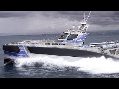 차세대 무인 대잠 해상선박 갈메기 데모 New Seagull Unmanned Surface Vessel Demo