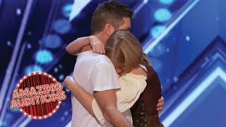 Simon Cowell SAVES This EMOTIONAL Contestant's Audition   Amazing Auditions
