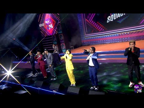 EX BATTALION - Hayaan Mo Sila (MYX Squadfest Performance)