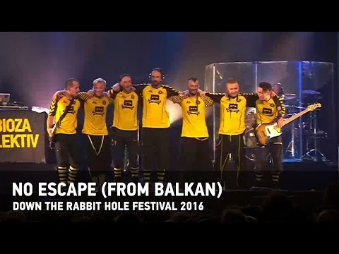 "Dubioza kolektiv ""No Escape (from Balkan)"" - Live from Down The Rabbit Hole Festival 2016"