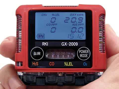 GX-2009 Gas Monitor Training - Introduction