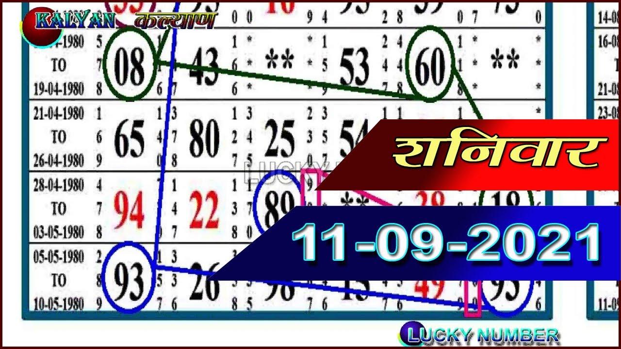 Kalyan Matka 11/09/2021|| kalyan trick today kalyan matka || 𝐊𝐚𝐥𝐲𝐚𝐧 𝐓𝐫𝐢𝐜𝐤  || SECOND TOUCH KI LINE
