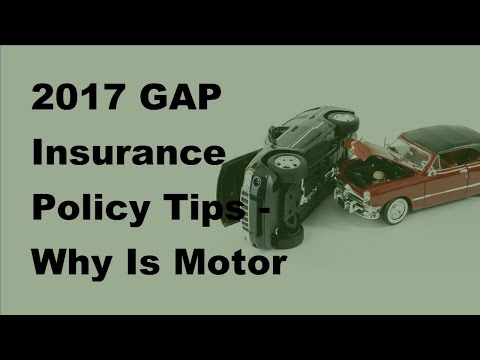 2017 GAP Insurance Policy Tips  | Why Is Motor Home Gap Insurance Different