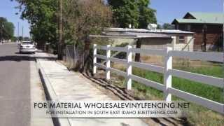 How To Install Vinyl Fence (part 2)