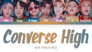 BTS (방탄소년단) - Converse High (Color Coded Lyrics Han/Rom/Eng)