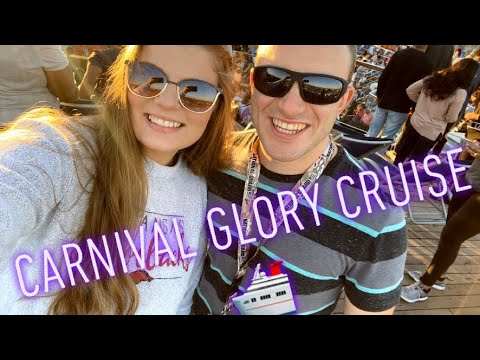 Carnival Glory Cruise Vlog Part 1 - YouTube