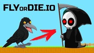 Животные ГЛАЗАСТИКИ съедают друг друга и эволюционируют #5 ИГРА FlyOrDie io с ПАПУЛЕЙ