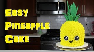 How to Make a Pineapple Cake | CHELSWEETS