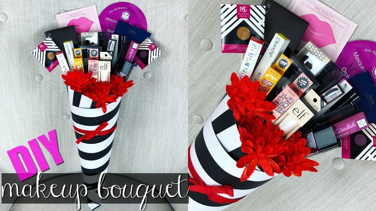 DIY Makeup Bouquet