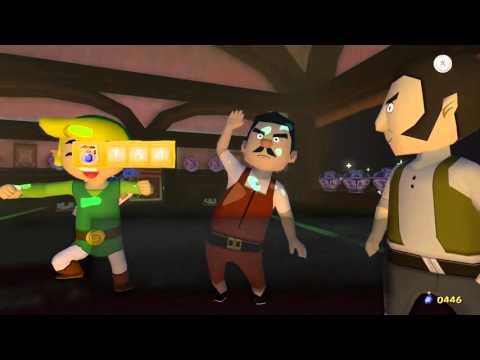 Zelda Windwaker HD Heart Piece #9 Windfall Auction House