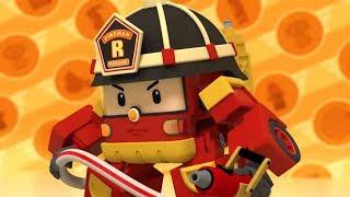 Робокар Поли - Рой и пожарная безопасность - Полезный, но опасный огонь + Будь осторожен на кухне!
