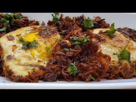 Dry Prawns with Egg Fry- Suka Jawla
