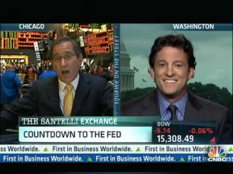 Jon Hilsenrath Challenges Rick Santelli On Inflation & USD - 'Holding You Accountible, Rick'