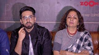 Badhaai Ho stars Ayushmann Khurrana & Neena Gupta talk about #MeToo movement