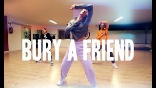 BURY A FRIEND - Billie Eilish | Lydia Martorell Choreography