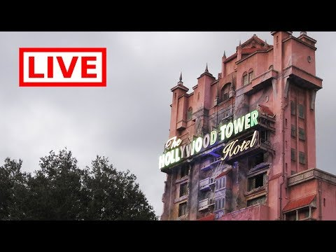 🔴 LIVE:  Disney's Hollywood Studios! || Tower of Terror & Frozen Sing-a-long