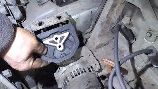 Замена передней подушки двигателя Daewoo Sens ZAZ Sens ZAZ Chance