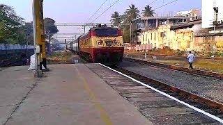 King WAP1 yanking Kerala king Ananthapuri Express!