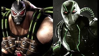 Injustice 1 vs Injustice 2 Super Move Comparison