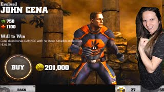 WWE IMMORTALS - I Bought John Cena!!