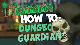 Terraria iOS/Android - How to Kill the Dungeon Guardian (w/ Map Download!)