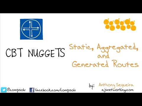 Juniper JNCIS-ENT (JN0-343) - Static, Aggregated, and Generated Routes