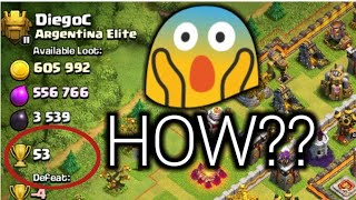How To Get High Trophies In TITAN League | Clash Of Clans