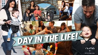 A DAY IN THE LIFE | BUSY MOM OF 3, When Daddy is home ❤️