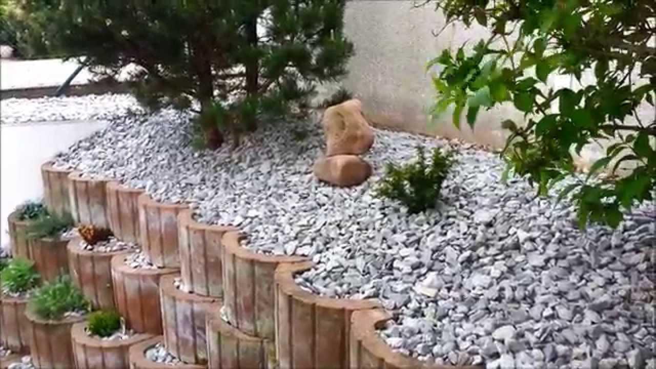 Anlegen eines Steingarten Teil2 - YouTube