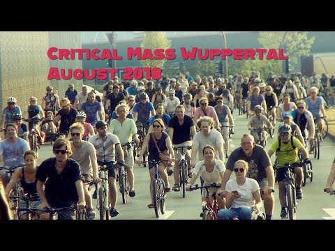 Critical Mass Wuppertal August 2018