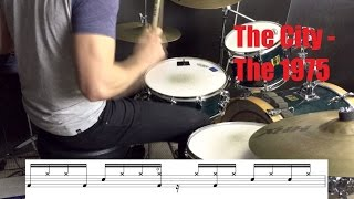 The City Drum Tutorial - The 1975