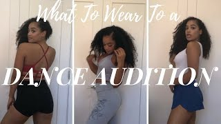 WHAT TO WEAR TO A DANCE AUDITION | EMMA MATLOCK