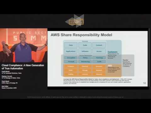 Cloud Compliance: A New Generation of True Automation | AWS Public Sector Summit 2016