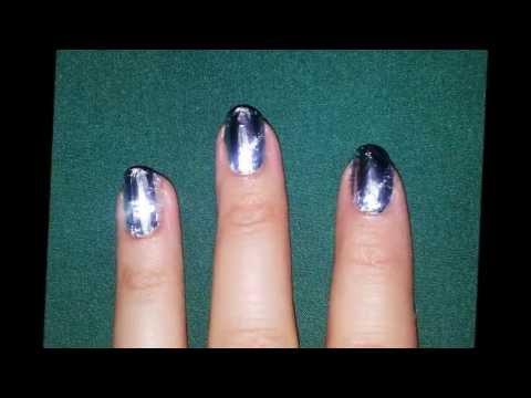 Wannabe mirror effect nails unghie effetto specchio circa youtube - Unghie effetto specchio ...