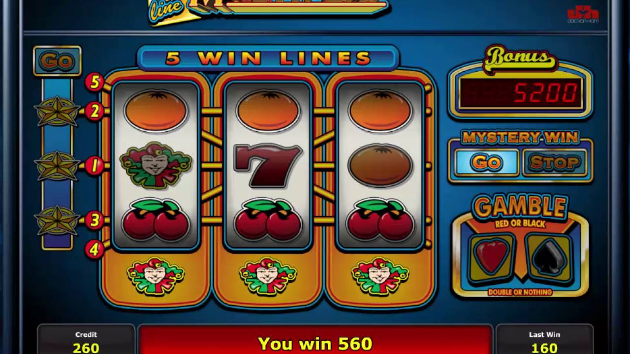 Spiele 5 Line Multiplay - Video Slots Online