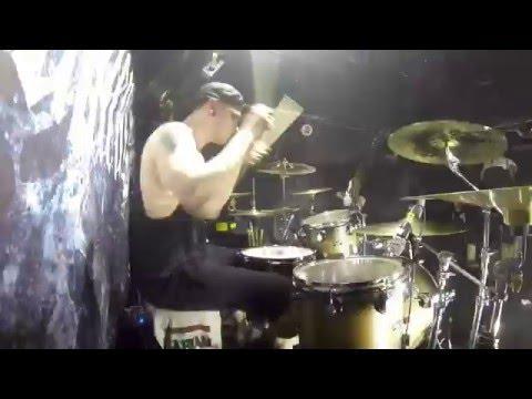 Peter Hanström - Imminence  - The Seventh Seal ( Live drum cam )