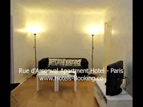 Rue d'Arsonval Apartment Hotel - Paris