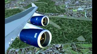 FS2004 British Airways London Heathrow to New York JFK