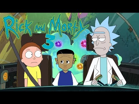 Rick And Morty Virtual Rick-Ality PART 3 | LIL RON RON'S ANIMATOR PLAYS